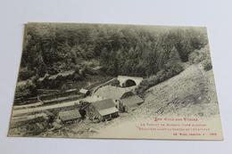 Col De Bussang - Le Tunel Du Bussang - Frontière Avant Le Guerre De 1914-1915 - Col De Bussang