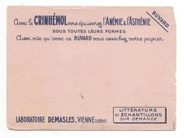 Buvard Ancien Publicité Crinhémol - Buvards, Protège-cahiers Illustrés