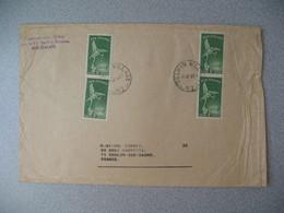 Nouvelle-Zélande Selwyn Village  1969   Lettre pour La France - New Zealand Cover Timbre Santé Health - Nouvelle-Zélande