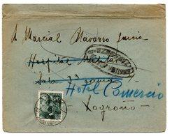 Carta Con Censura Militar Zaragoza.1939 - 1931-50 Cartas