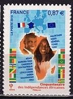 ADH 80 - FRANCE Adhésifs N° 472 Neuf** Indépendances Africaines - France