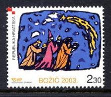 CROATIA 2003 Christmas MNH / ** .  Michel  664 - Croatie
