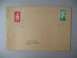 Nouvelle-Zélande Tauf Aki  1967   Lettre pour La France - New Zealand Cover Timbre Princess Anne Health - Nouvelle-Zélande