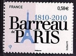 ADH 82 - FRANCE Adhésifs N° 508 Neuf** Bareau De Paris - Adhesive Stamps
