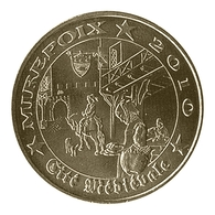 Monnaie De Paris , 2010 , Mirepoix , Mirepoix 2010 , Cité Médiévale - Autres