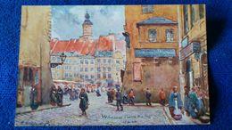 Warszawa The Old-Town Poland - Polonia