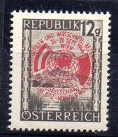 Sello Nº 646 Austria - 1945-.... 2ª República