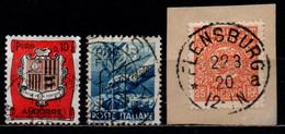 # 1950 Italia Trieste A.M.G. - F.T.T. - Fiera Di Trieste + Altri - Usati