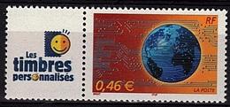 PERS 25 - FRANCE Les Timbres Personnalisés N° 3532A Monde En Réseau - France