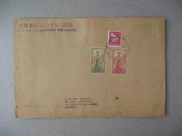 Nouvelle-Zélande Masterton 1967 Lettre Postal History Societypour France - New Zealand Cover Santé Health - Nouvelle-Zélande