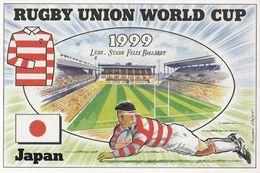 Japan Lens Stade Felix Bollaert Stadium Rugby World Cup Postcard - Rugby