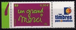 PERS 31 - FRANCE Les Timbres Personnalisés N° 3637A Un Grand Merci - France