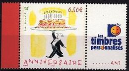 PERS 32 - FRANCE Les Timbres Personnalisés N° 3688A Anniversaire - Personalizzati