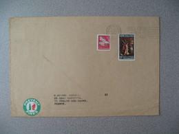Nouvelle-Zélande Masterton 1969 Lettre pour France - New Zealand Cover Timbre Flaur Oël Christmas + Prevent Fires - Nouvelle-Zélande