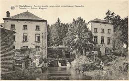 Neufchâteau - 20. Ancien Moulin Seigneurial Actuellement Cascades, Moulin Et Scierie Klepper - Circulé 1953 - Neufchâteau