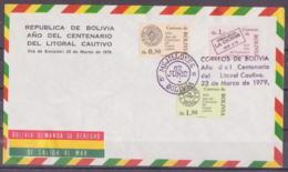 61-556 / BOLIVIA  - ANO DEL CENTENARIO DEL LITORAL CAUTIVO 1979 - Bolivia