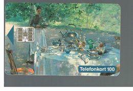 SVEZIA (SWEDEN) - TELIA  (CHIP) -  1993   HANNA HIRSCH-PAULI, PAINTING             - USED - RIF. 10028 - Sweden