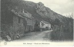 821. SOSOYE : Route Vers Maredsous - Courrier De 1924 - Anhée