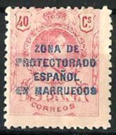 Marruecos Español Nº 76 Con Charnela - Marruecos Español