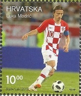 HR 2019-1368 SPORT LUKA MODRIĆ. HRVATSKA CROATIA, 1 X 1,85. MNH - Croazia
