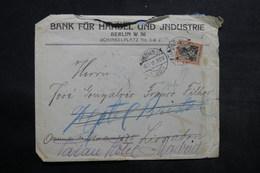 ALLEMAGNE - Enveloppe Commerciale De Berlin Pour Madrid En 1915 , Affranchissement Germania Perforé - L 34009 - Germany