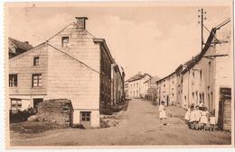 Neufchâteau - Rue Du Chaufour Animée - Circulé Vers 1949 - Nels / Lib. Impr.papet. J.M. Laroche - Neufchâteau