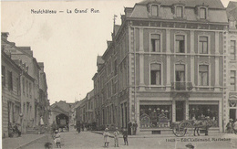 Neufchâteau - Grand'Rue Animée - Circulé 1908 - 14459 - Edit Lallemand à Marbehan - Neufchâteau