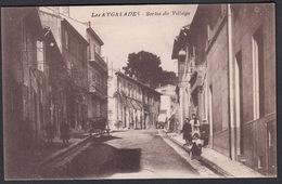 CPA 13 -  LES AYGALADES, Sortie Du Village - ( Marseilles ) - Marseille
