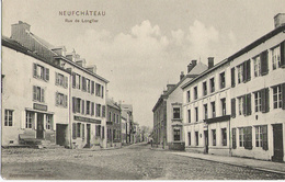 Neufchâteau - Rue De Onglier - Circulé 1906 Dos Simple - D.T.C. Anvers Nfu 2 - Neufchâteau