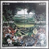 BRAZIL #2752 -  OCELOT ( Felis Tigrina)  -  ENVIRONMENT PRESERVATION  - MINT  4(+) -  2000 - Brazil