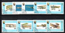 BIG - BELIZE 1979, Serie Yvert 430/438  Usata   (2380A)  Rowland Hill - Belize (1973-...)