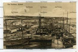 Northern Ireland County Down Postcard Kilkeel The Harbour 1910s Postcard Crease Top Left - Down