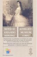 Griechenland Korfu Eintrittskarte 2019 Achillion Sissy - Schloss - Eintrittskarten