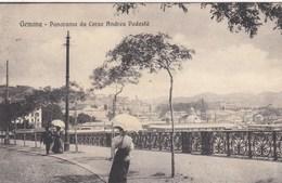 GENOVA-PANORAMA DA CORSO ANDREA PODESTA-BELLA ANIMAZIONE-VIAGGIATA IL 22-7-1916 - Genova (Genoa)