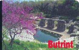 Albanien Butrint Eintrittskarte 2019 Historische Ruinenstadt Theater UNESCO Welterbe - Eintrittskarten