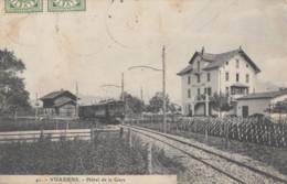 CPA - Vuadens - Hôtel De La Gare - - FR Fribourg