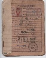 Tickets De Rationnement/Occupation-Libération/LE QUELLEC/ ROMAINVILLE/Seine/1948-1951                     OL109 - Militaria