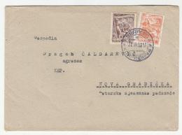 Yugoslavia FNR Letter Cover Travelled 1952 Koprivnica To Nova Gradiška B190701 - Kroatien
