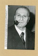 Photo Originale . Le Général   VITO MICELI  Ancien Chef  Des Services Secrets Militaires En 1974 - Guerre, Militaire