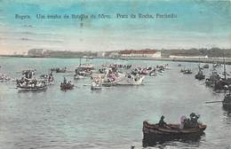 REGATA.- UM TRECHO DA BATLHA DE FLORES. PRAIA DA ROCHA, PORTIMAO - Portugal