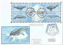 YT BF25 - Baleines - Cachalot - Rorqual - FDC - FDC