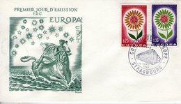 France. Enveloppe Fdc. Europa 1964 - FDC