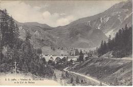 74 MONTROC VIADUC FERROVIERE A VOIX METRIQUE LIGNE TRAIN LE FAYET CHATELARD  VALLEE DE CHAMONIX MASSIF DU MONT BLANC - Chamonix-Mont-Blanc