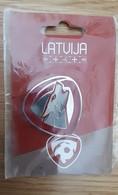 LATVIA LATVIJA Football Federation Magnet Soccer - Magnets