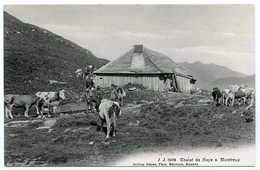 LA SUISSE : CHALET DE NAYE S. MONTREUX - VD Vaud