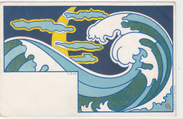 L'eau - Signiert G.Combaz  (190626) - Altre Illustrazioni