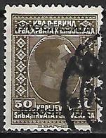 YOUGOSLAVIE   -    1933.   Y&T N° 240 Oblitéré.   Surchargé - 1931-1941 Royaume De Yougoslavie