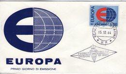Saint Marin. Enveloppe Fdc. Europa 1964 - FDC
