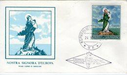 Saint Marin. Enveloppe Fdc. Europa 1966 - FDC