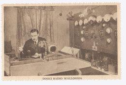 Cpa Radio Wallonnia  1930 - Spectacle